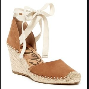 Sam Edelman Espadrille Wedge Tan (10)
